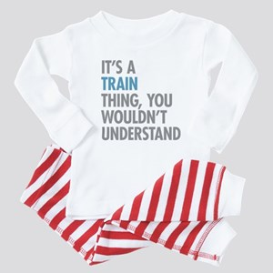 Train Thing Baby Pajamas