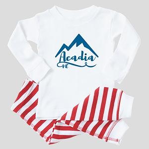 Acadia Maine Baby Pajamas
