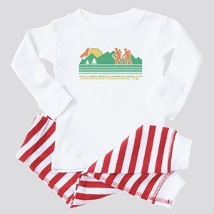 Hike Adirondack Mountains Baby Pajamas