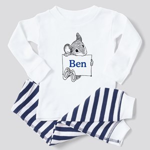 Personalized Toddler Pajamas
