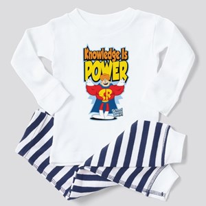 Knowledge Is Power Toddler Pajamas
