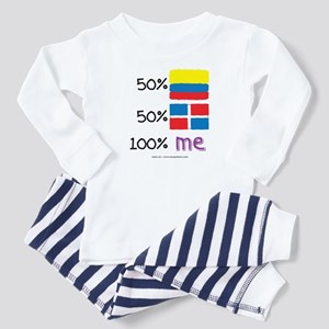 Colombian/Dominican Republic Flag Design Toddler T