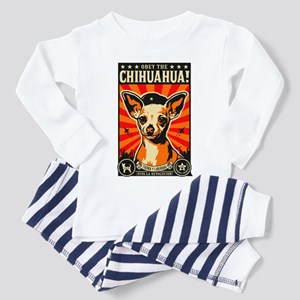 Obey the Chihuahua! Toddler Pajamas