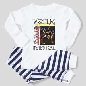 That's How I Roll Wrestling Toddler Pajamas