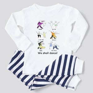 We shall dance! Toddler Pajamas