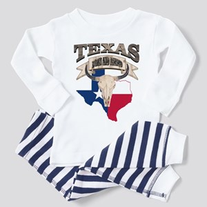 Bull Skull Born Texas Pajamas
