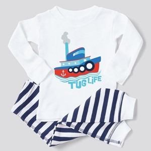 Tug Life Tugboat Toddler Pajamas
