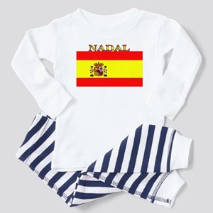 Nadal Spain Spanish Flag Toddler Pajamas