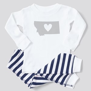Heart Montana Toddler Pajamas