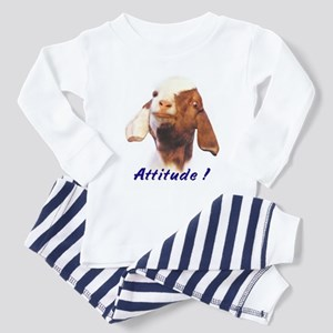Goat-Boer with Attitude Toddler Pajamas
