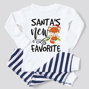 Santa Favorite Christmas Toddler Pajamas