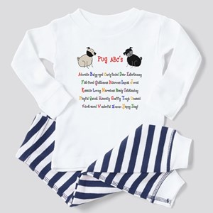 Pug ABC's Toddler Pajamas