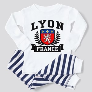 Lyon France Toddler Pajamas