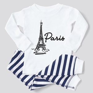Paris Toddler Pajamas