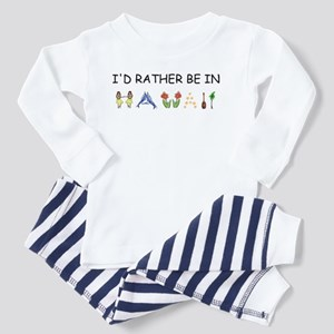 """I'd Rather Be in Hawaii"" Toddler Pajamas"