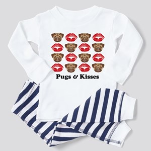 Pugs and Kisses Toddler Pajamas