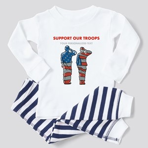 Support Our Troops Toddler Pajamas