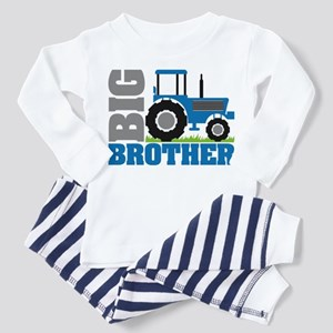 Blue Tractor Big Brother Toddler Pajamas