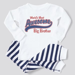 Awesome Big Brother Toddler Pajamas