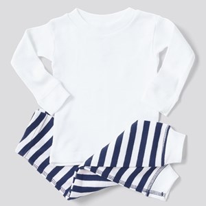 Elf Hat on Elf Toddler Pajamas