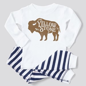Yellowstone Buffalo Toddler Pajamas