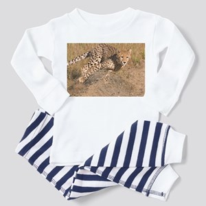 Cheetah On The Move Toddler Pajamas