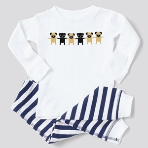 StringOPugs Toddler Pajamas
