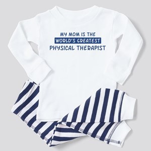 Physical Therapist Mom Toddler Pajamas