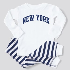 Blue Classic New York Toddler Pajamas