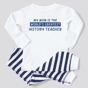 History Teacher Mom Toddler Pajamas