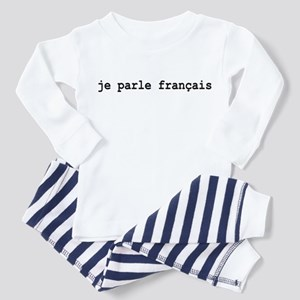 I Speak French Toddler Pajamas