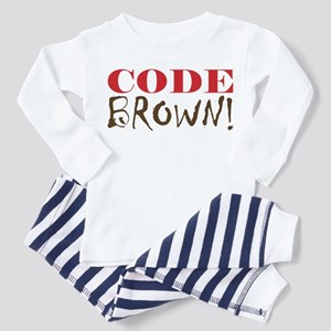 Code Brown! Toddler Pajamas