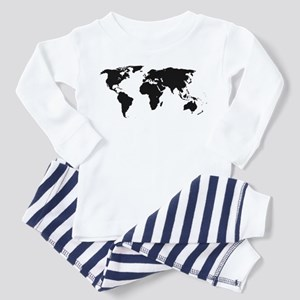 World Outline Pajamas