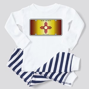 New Mexico Flag License Plate Pajamas