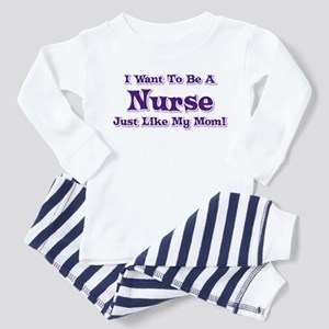 Want to be a Nurse Toddler Pajamas