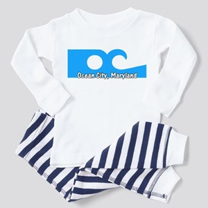 Ocean City Flag Toddler Pajamas