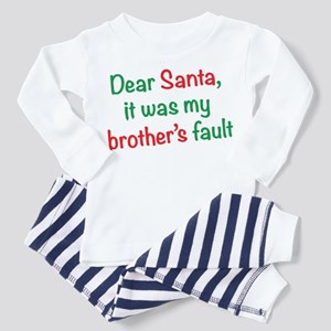 Dear Santa, it was my brother's fault Toddler T-Sh