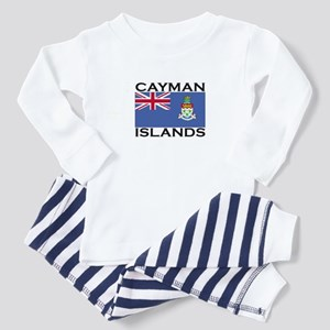 Cayman Islands Flag Toddler Pajamas