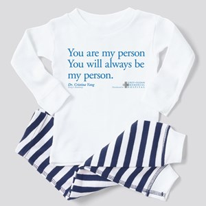 You Are My Person Infant/Toddler Pajamas