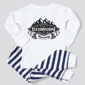 Yellowstone Mountain Emblem Toddler Pajamas