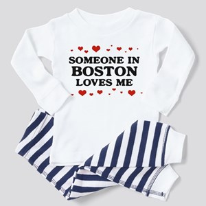Loves Me in Boston Toddler Pajamas