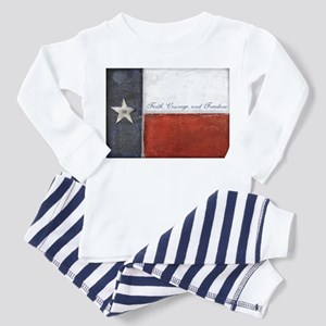 Texas Flag Toddler Pajamas
