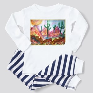 Desert! Southwest art! Toddler Pajamas
