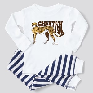 Cheetah Toddler Pajamas