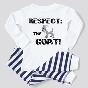 RESPECT the GOAT for Men Toddler Pajamas