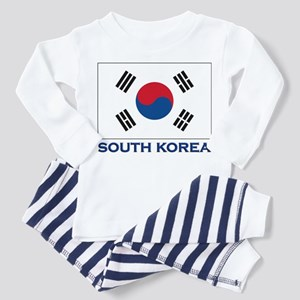 Flag of South Korea Toddler Pajamas