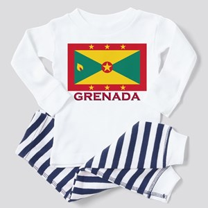 Flag of Grenada Toddler Pajamas