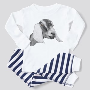 Nubian Goat Sketch Toddler Pajamas