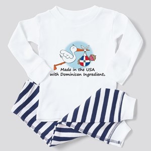 Stork Baby Dominican Rep. USA Toddler T-Shi