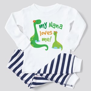 My Nana Loves Me Dinosaur Toddler Pajamas